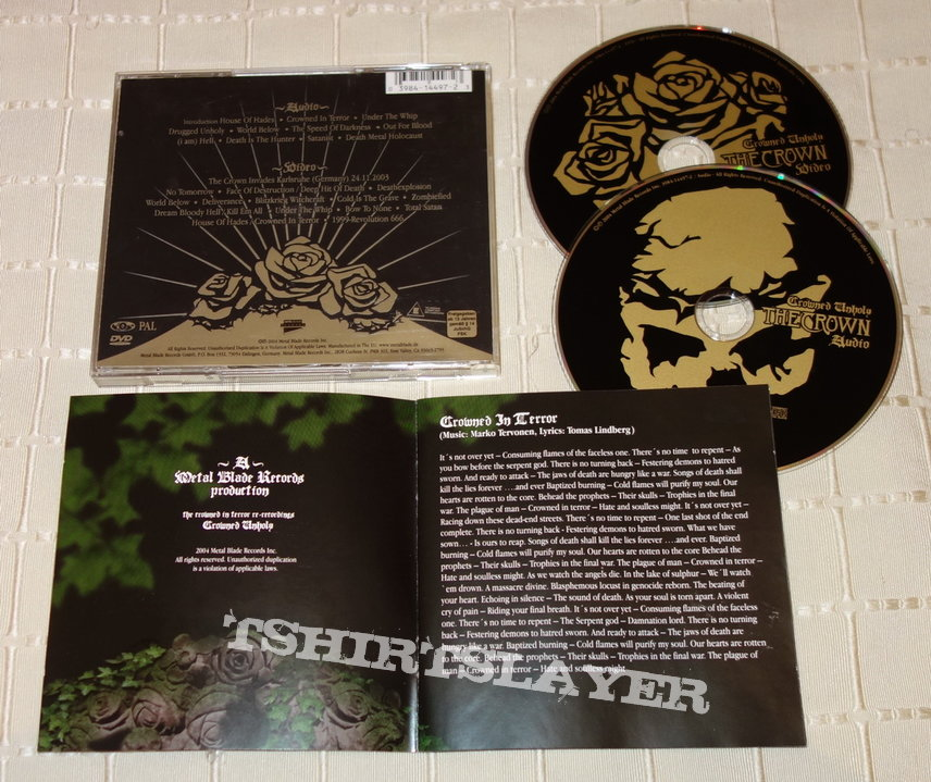 The Crown - Crowned unholy - CD