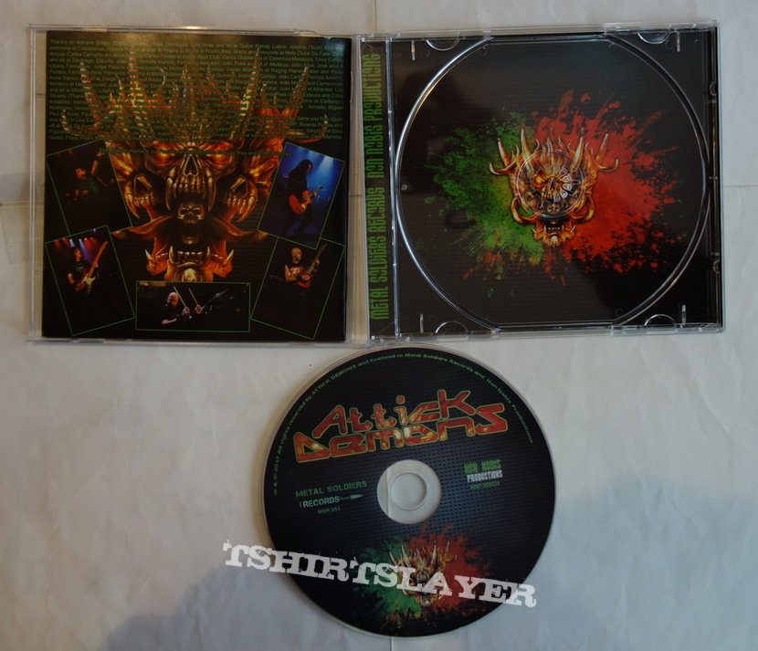 Attick Demons - Back to the attick...live! CD