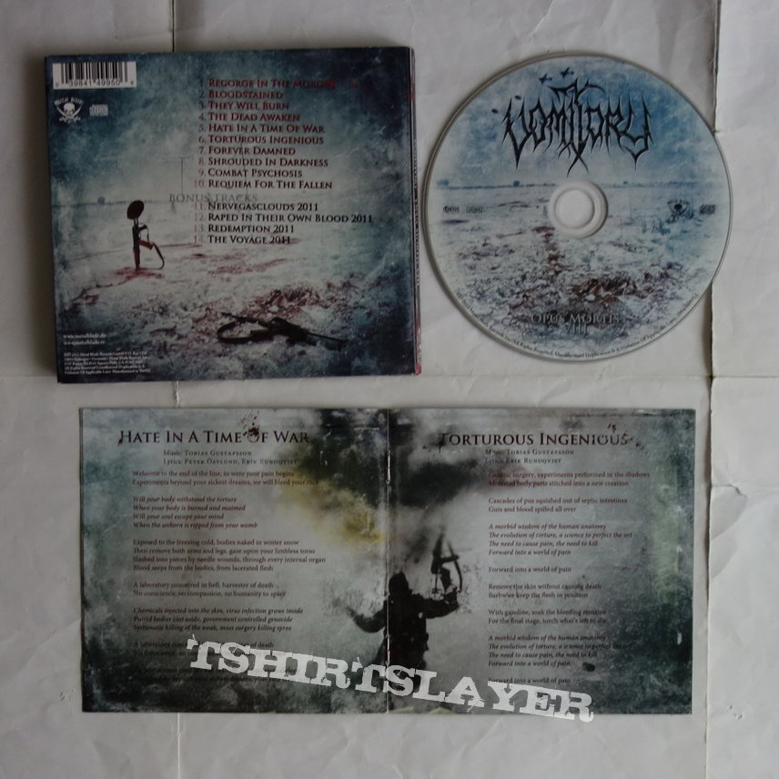 Vomitory - Opus mortis VIII - lim.edit.Digipack CD