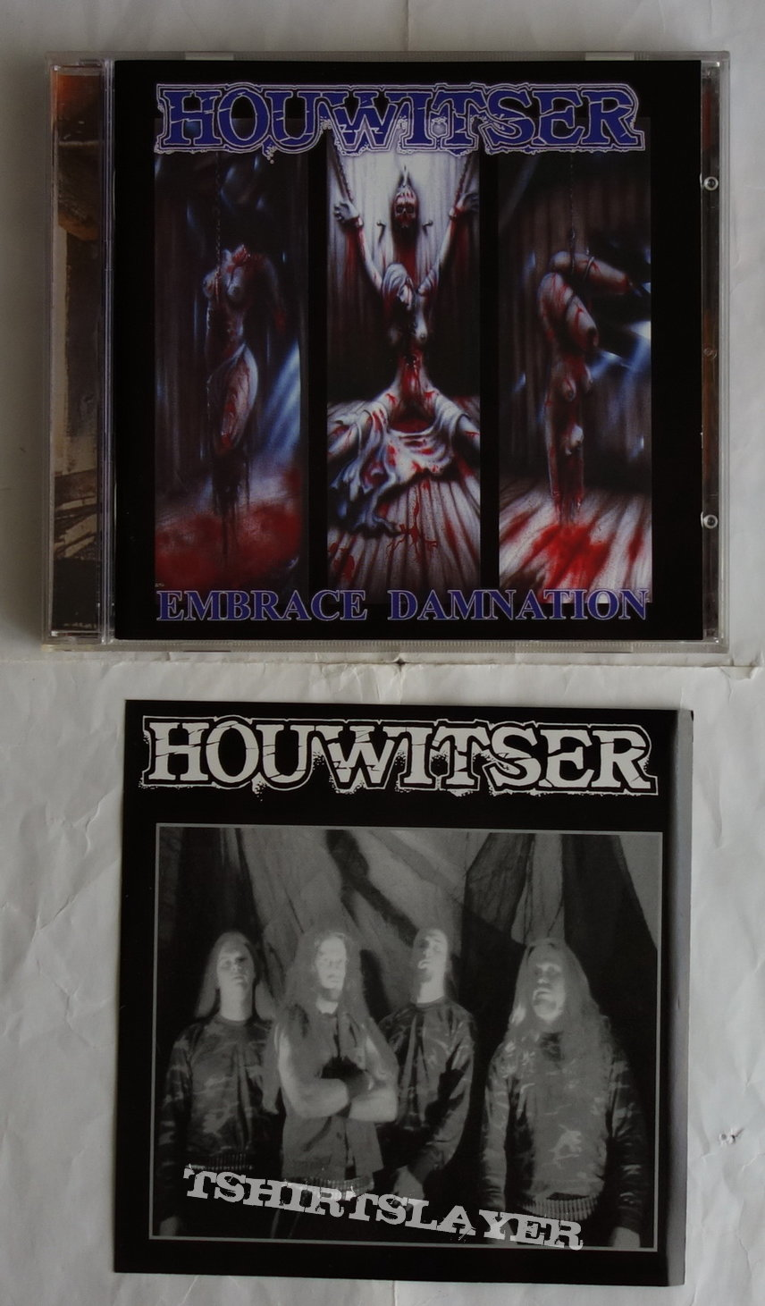 Houwitser - Embrace damnation - CD