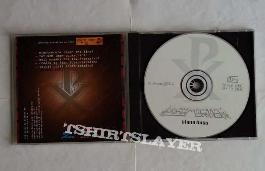 Postmortem - Storm force - CD EP