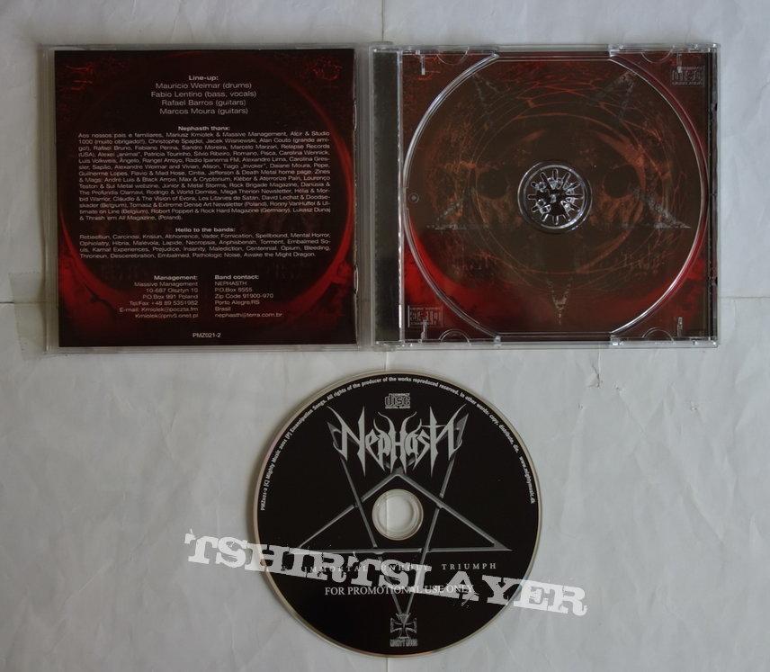 Nephasth - Immortal unholy triumph - Promo CD