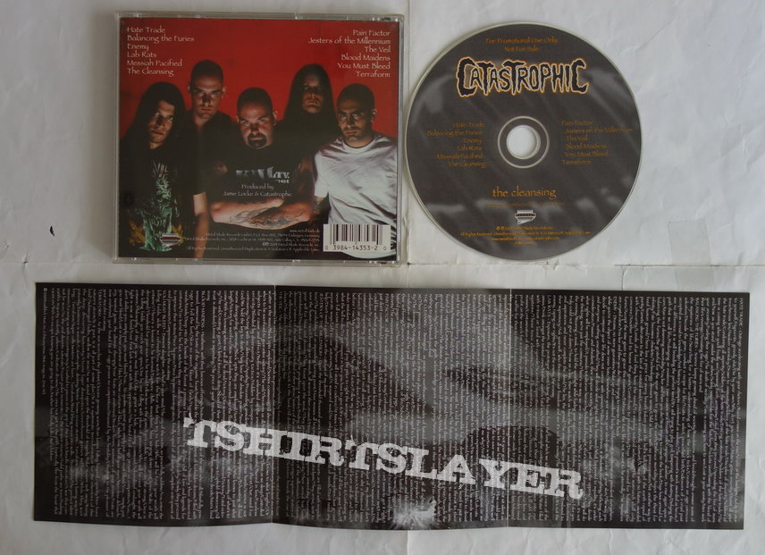 Catastrophic - The cleansing - CD