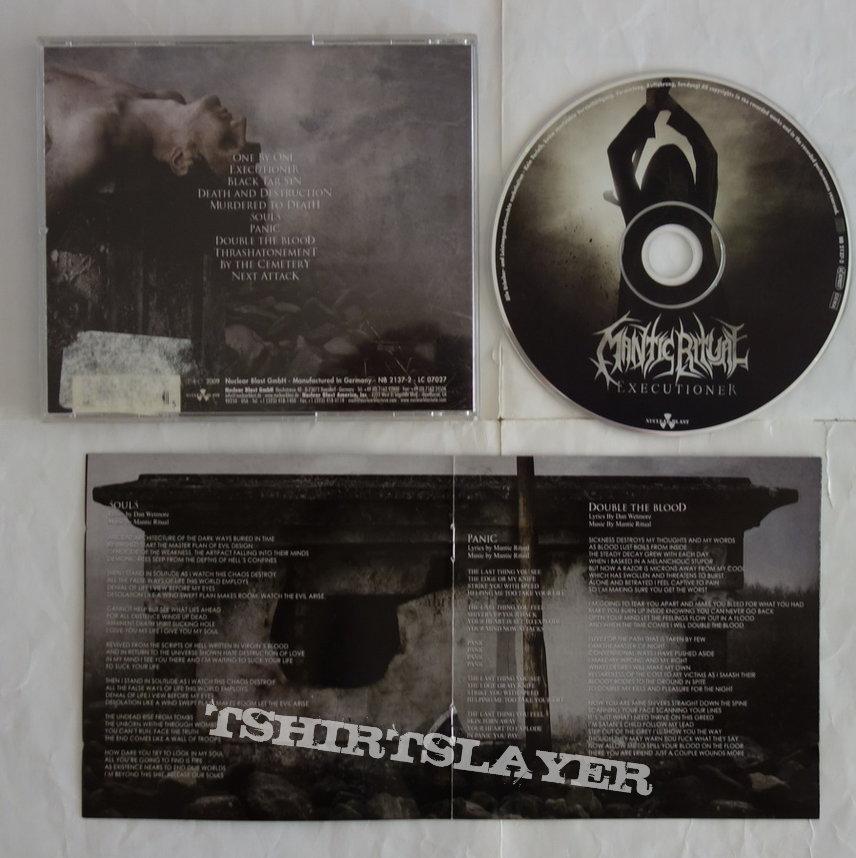 Mantic Ritual - Executioner - CD