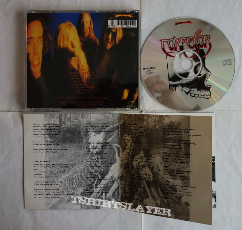 Confessor - Condemned - orig.Firstpress CD