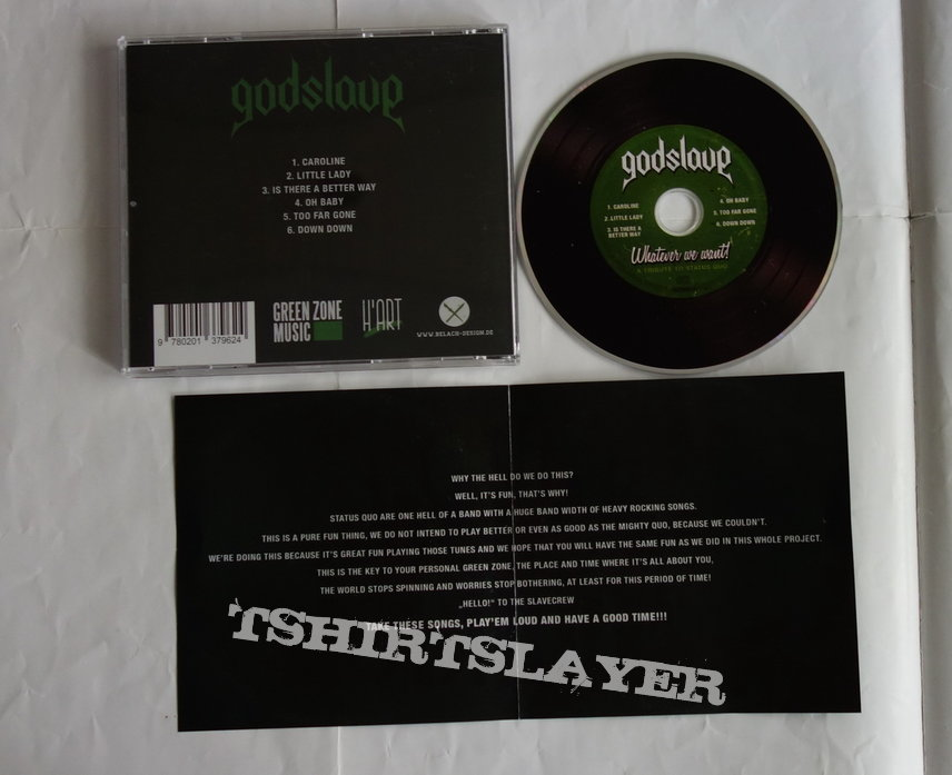 Godslave - Whatever we want! A tribute to Status Quo - CD