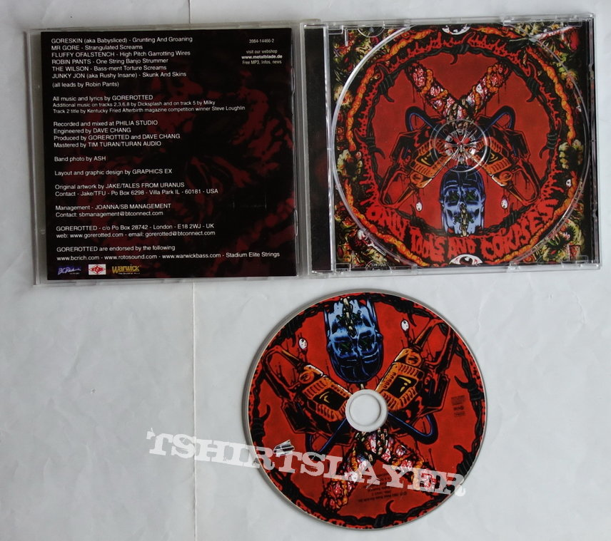 Gorerotted - Only tools and corpses - CD