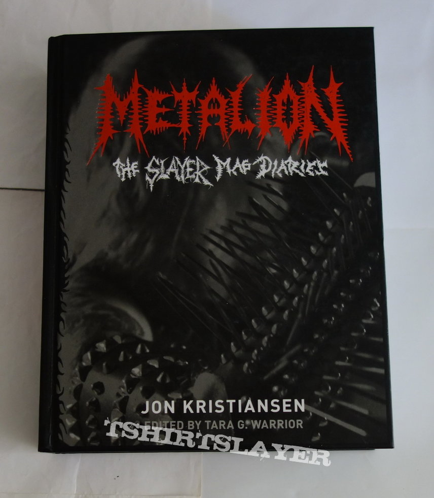 Metalion - The Slayer mag diaries - Book
