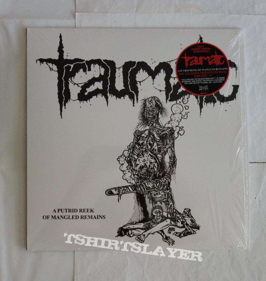 Traumatic - A putrid reek of mangled remains - LP