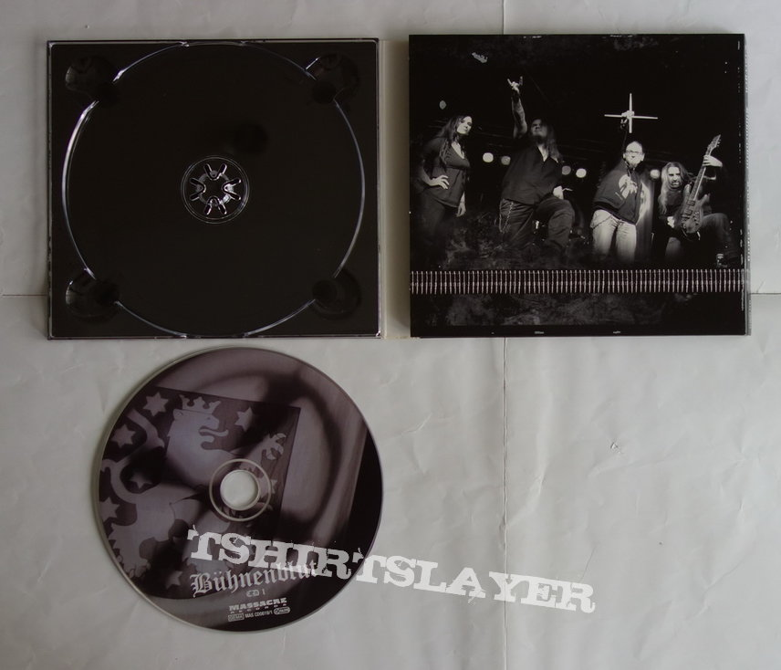 Eisregen - Buehnenblut-Live in Leipzig - lim.edit.Digipack CD