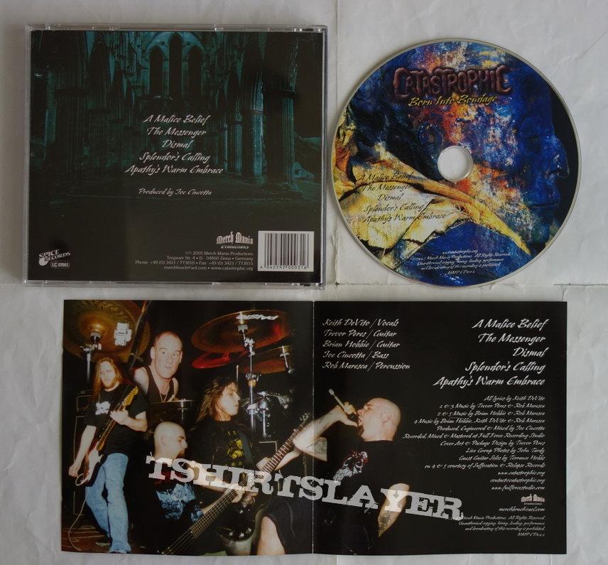 Catastrophic - Born into bondage - CD