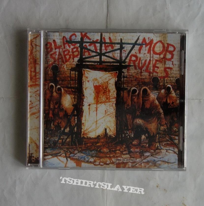 Black Sabbath - Mob rules - Re-release CD