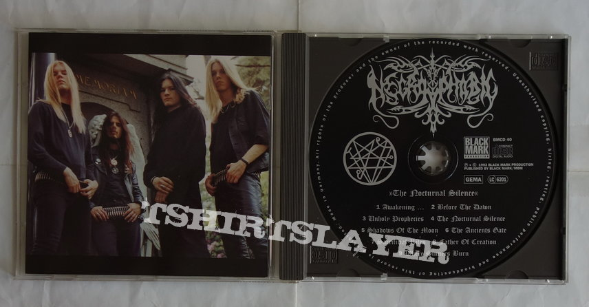 Nerophobic - The nocturnal silence - orig.Firstpress CD