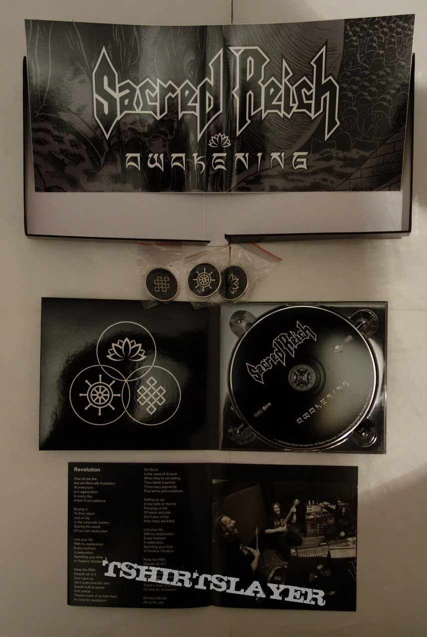 Sacred Reich - Awakening - lim.edit.Box Set