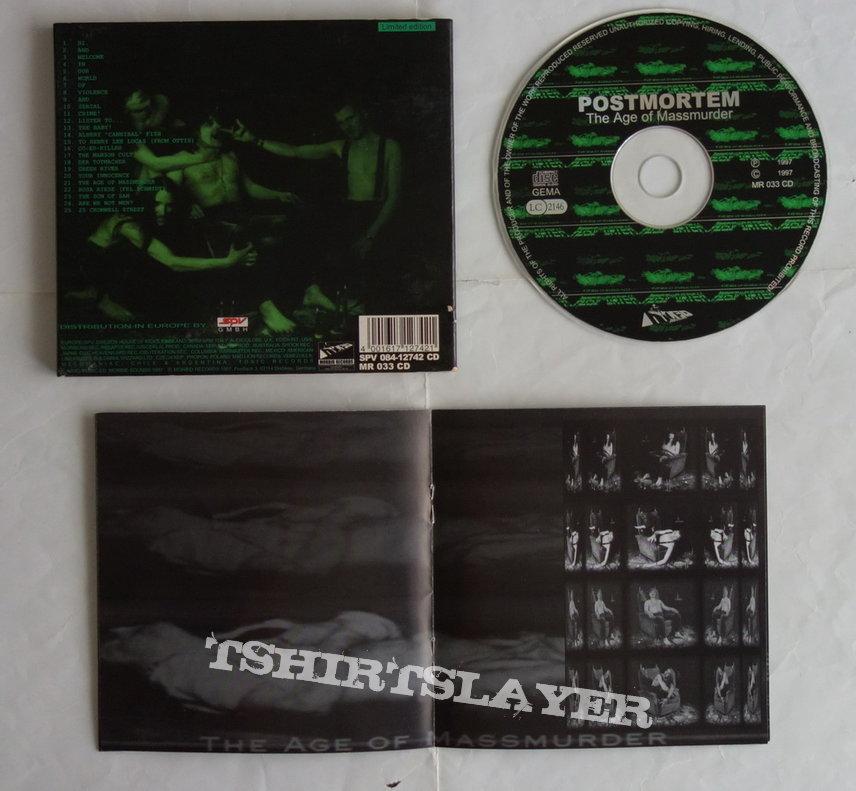 Postmortem - The age of massmurder - lim.edit.Digipack CD