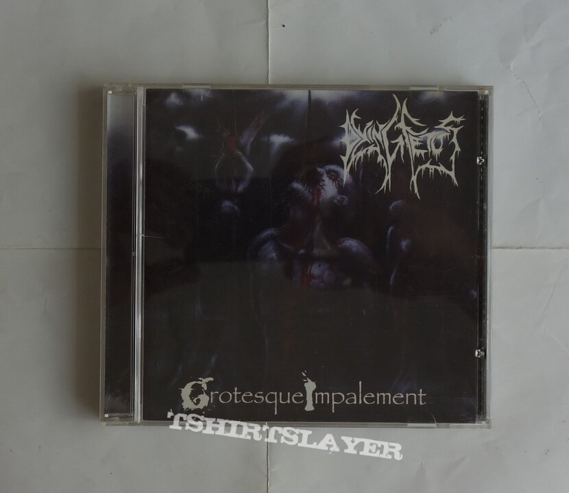 Dying Fetus - Grotesque impalement - orig.Firstpress CD