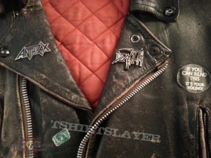 Battle Jacket - Old leather jacket