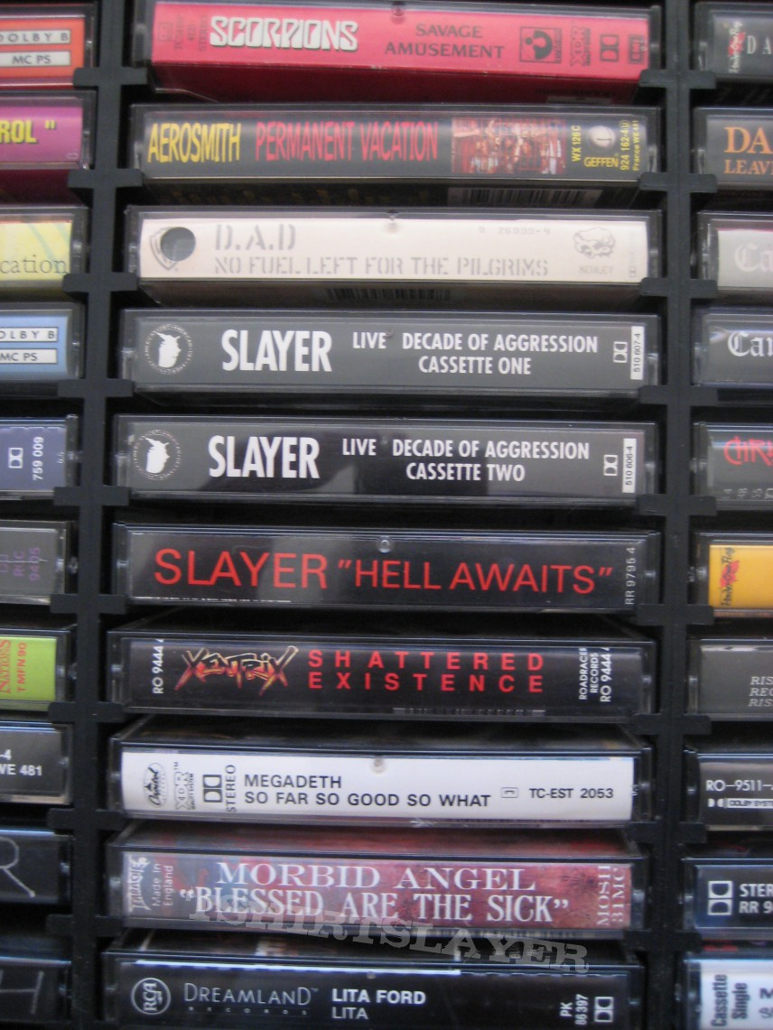90's metal cassette's for sale