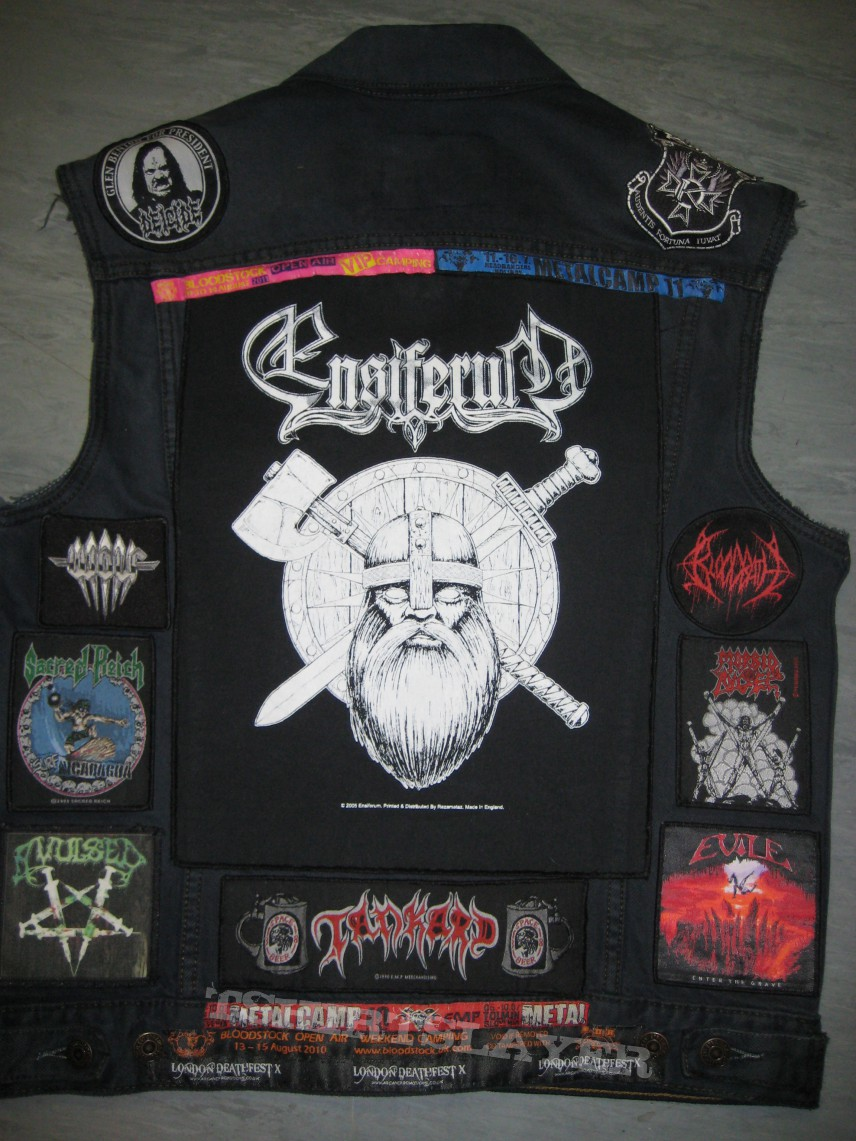 Battle Jacket - Black denim #1