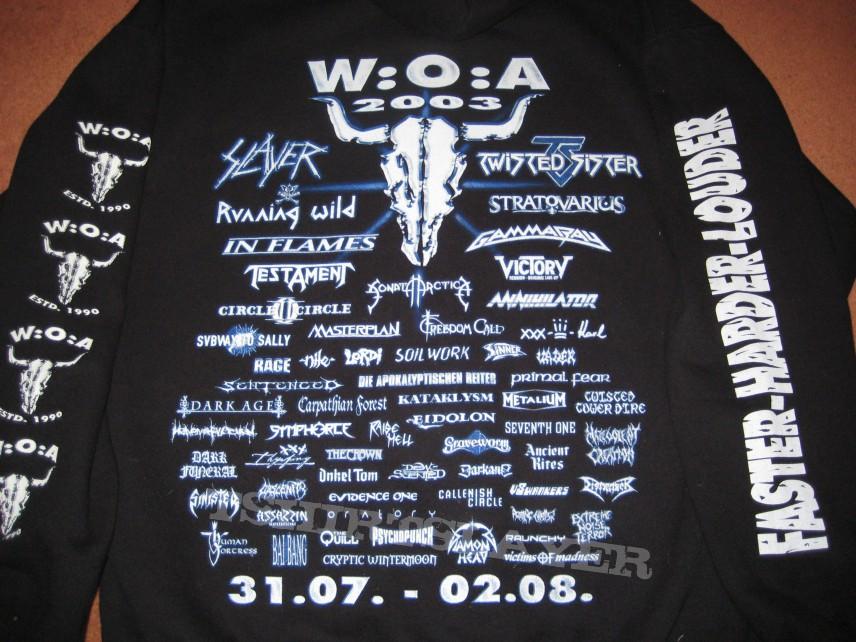 Wacken 2003 festival hoody