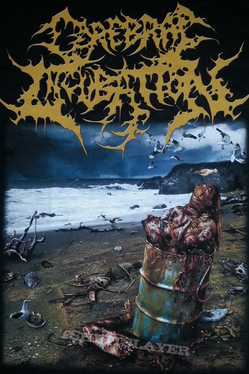 cerebral incubation asphyxiating on excrement