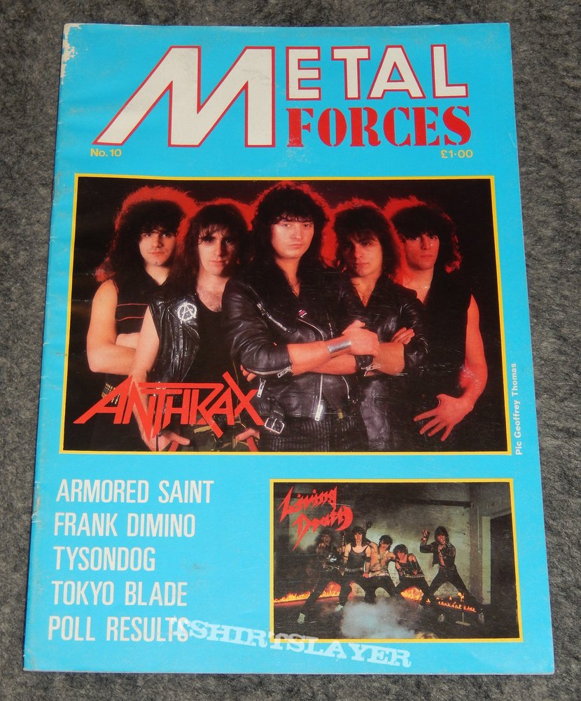 Metal Forces Issue No. 10 Anthrax