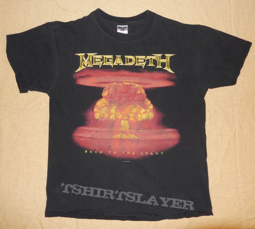 "Megadeth ""Back To The Start"""
