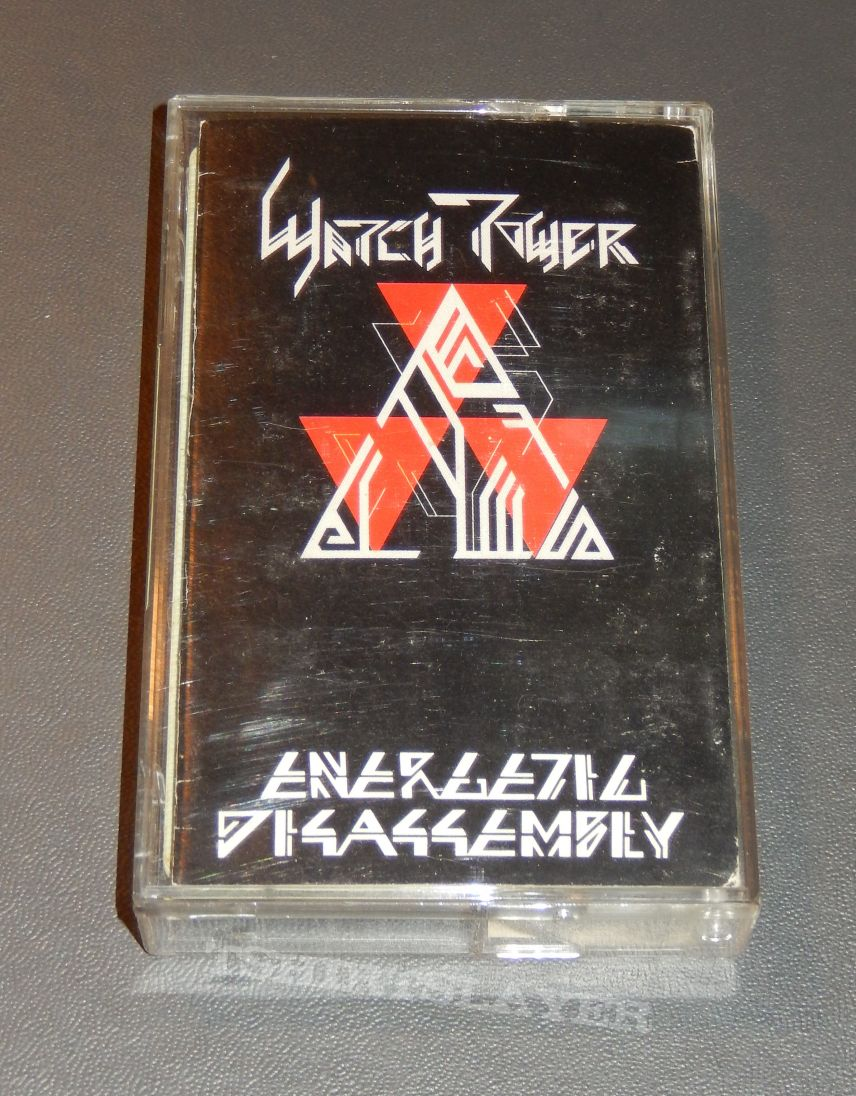 """Watch Tower """"Energetic Disassembly"""" cassette"""