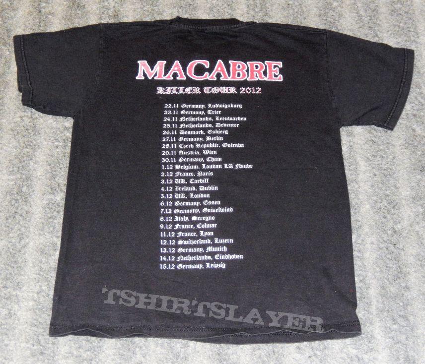 """Macabre """"Killer"""" European Tour 2012"""