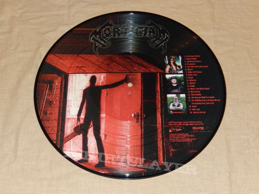 Mortician Chainsaw Dismemberment Picture Disc