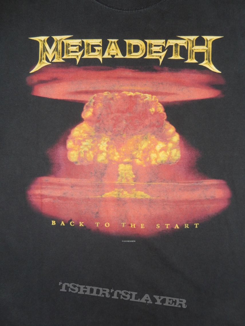 "Megadeth ""Back To The Start"""