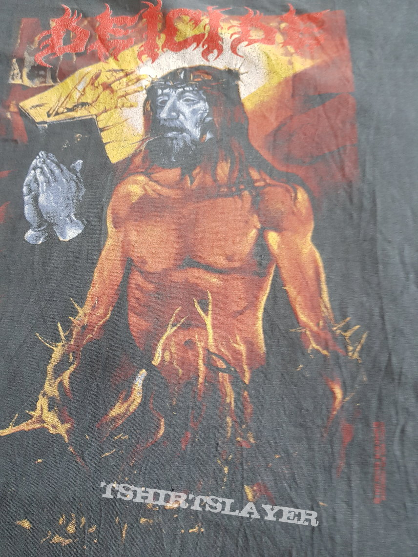 """Deicide """"Serpents of the Light"""" 1997 original shirt"""