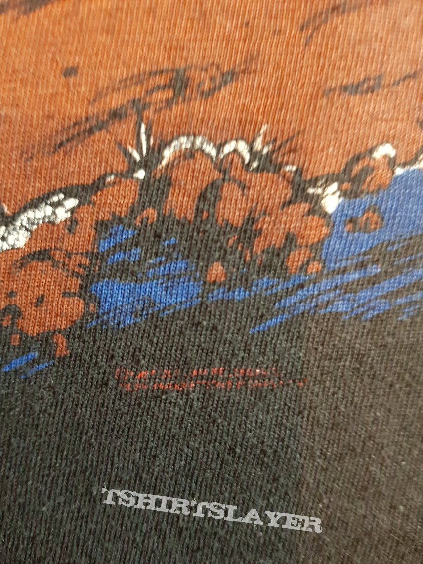 Slayer Reign in Pain tour original 1987 sleeveless shirt