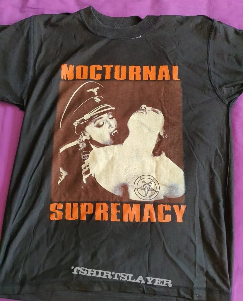 """Cradle of Filth """"Nocturnal Supremacy """" 1994  MIM test print"""