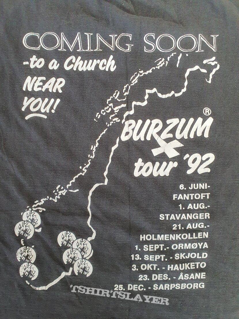 "Burzum "" Coming Soon.... "" 1994 shirt"