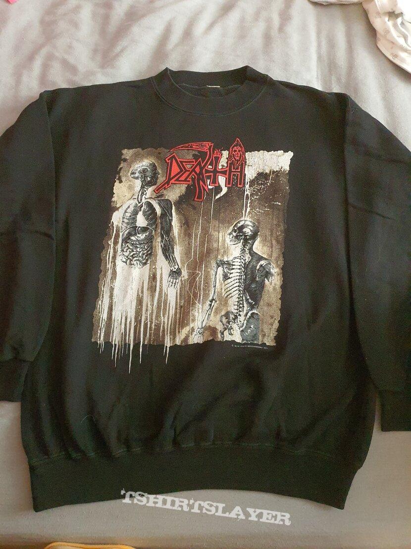"Death "" Human "" 1991 Sweater"