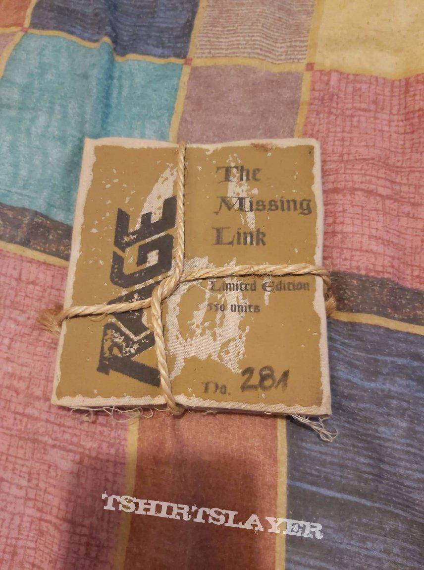 """Rage """" The Missing Link"""" MEGA RARE 1993 e.p"""