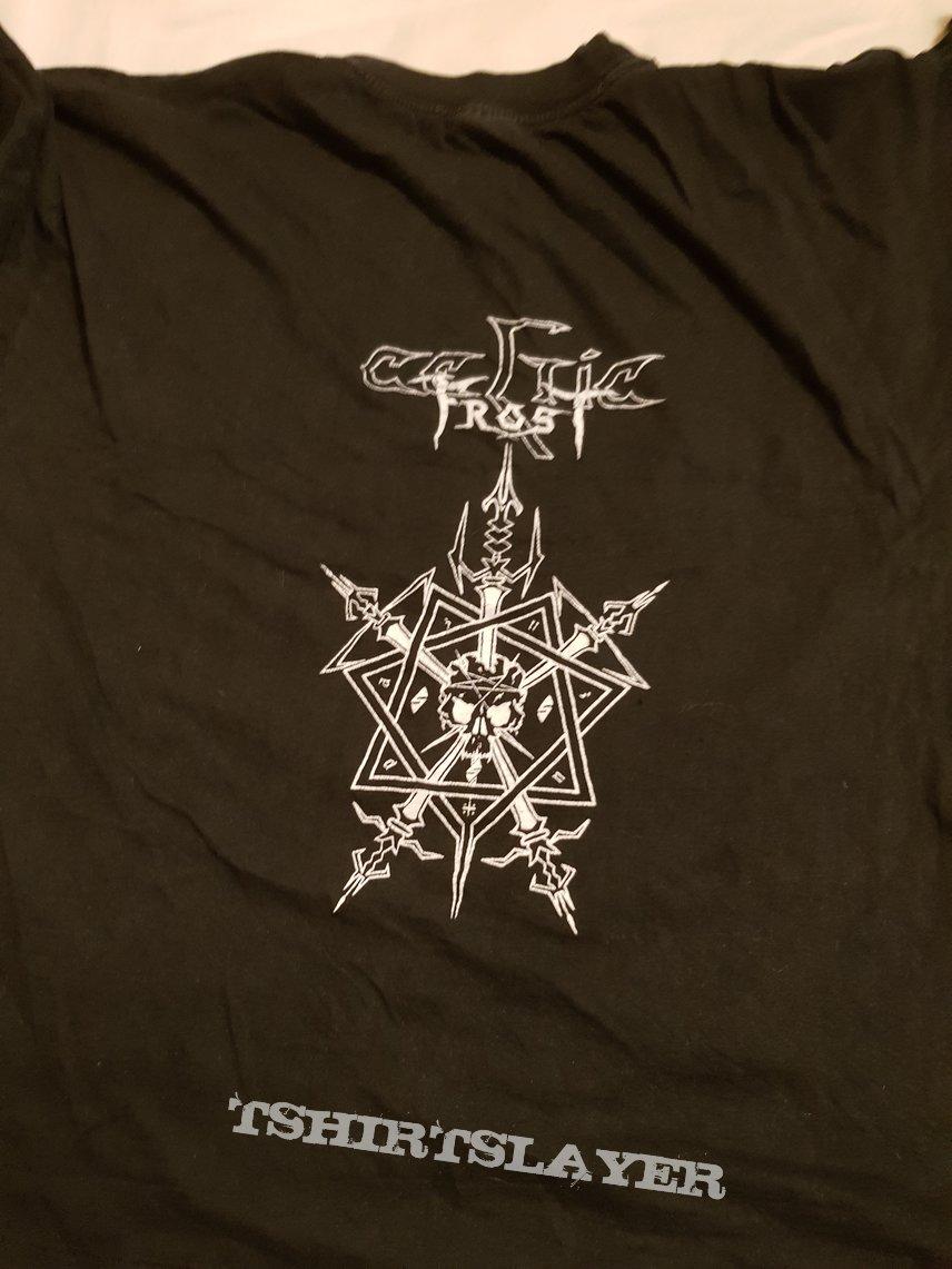 "Celtic Frost ""To Mega Therion"" 1991 original shirt"