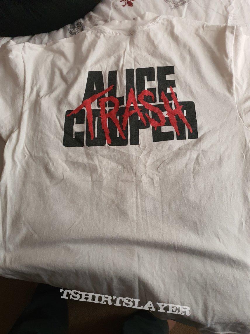 "Alice Cooper "" Trash "" 1989 shirt"