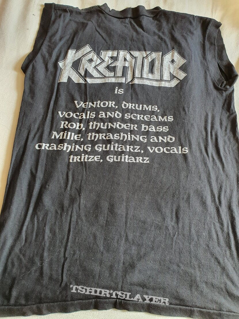 """Kreator """" Out of the Dark """" 1988 Muscle shirt"""