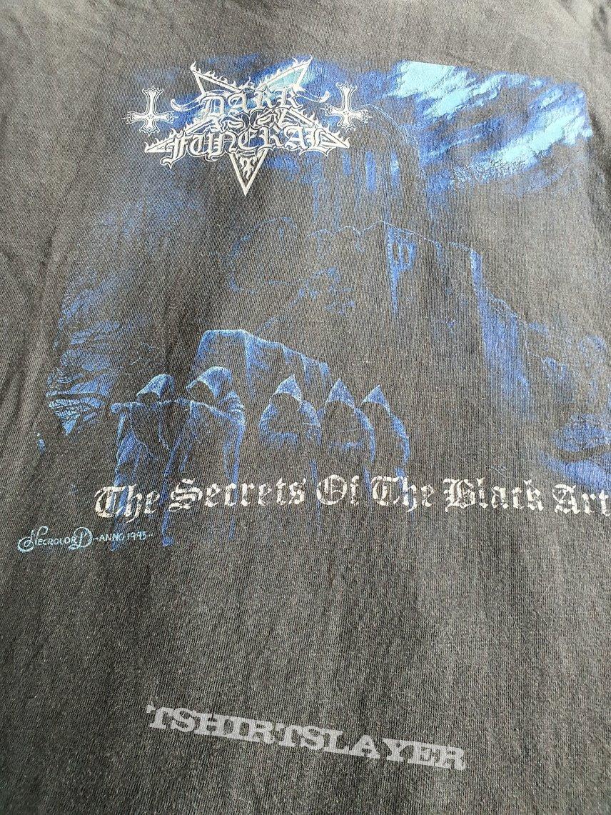 "Dark Funeral "" Secrets of the Black Arts"" 1996 longsleeve"