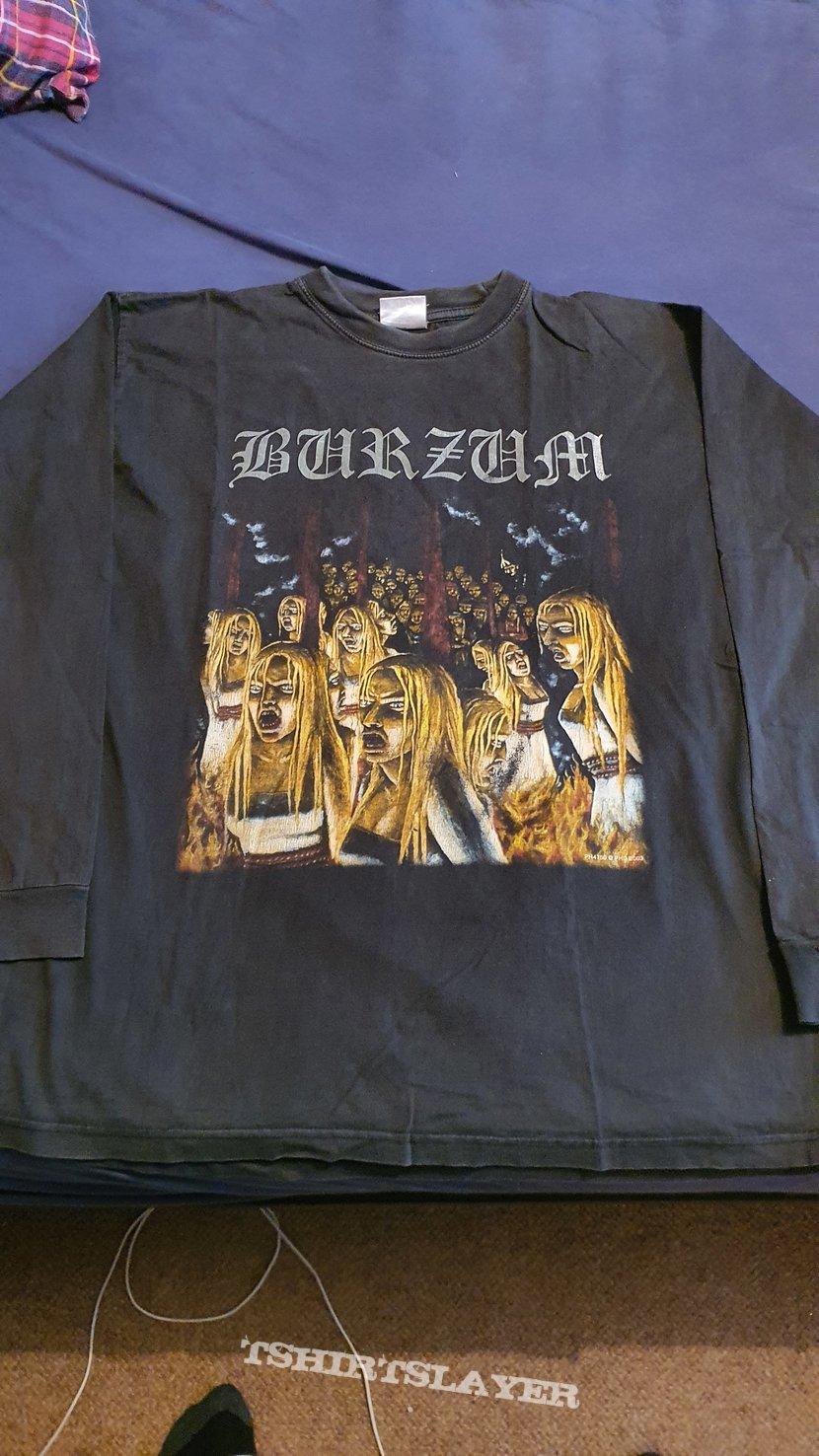 """Burzum """" Burning Witches """" 2003 longsleeves"""