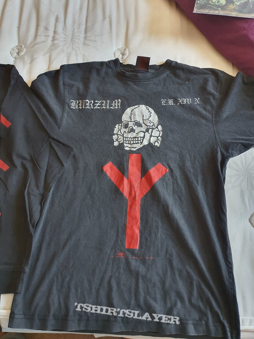"""Burzum """"Support your..."""" 1997 Longsleeve and Shirt"""