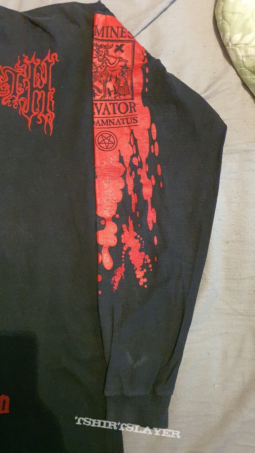 "Cradle of Filth ""Vestal Masturbation Tour"" 1995 Longsleeve"