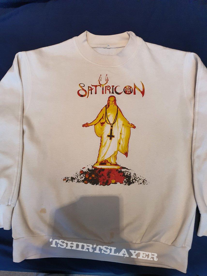 """Satyricon """" Mot Kvitekrist i 1000 Aar"""" 1995 Sweater"""