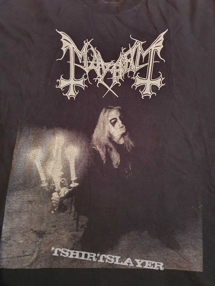 "Mayhem ""Live in Leipzig "" 1993 longsleeve"