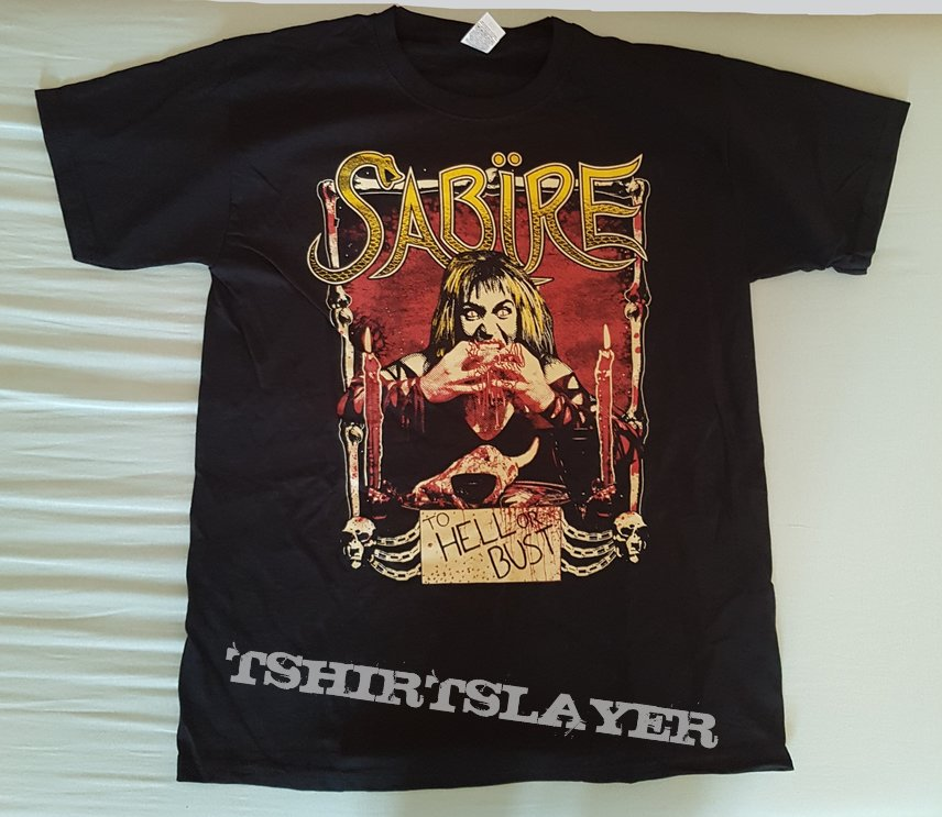 "Sabire ""To Hell Or Bust"" Shirt"