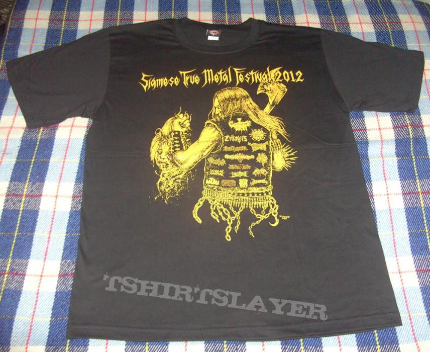 TShirt or Longsleeve - Siamese True Metal Fest 2012