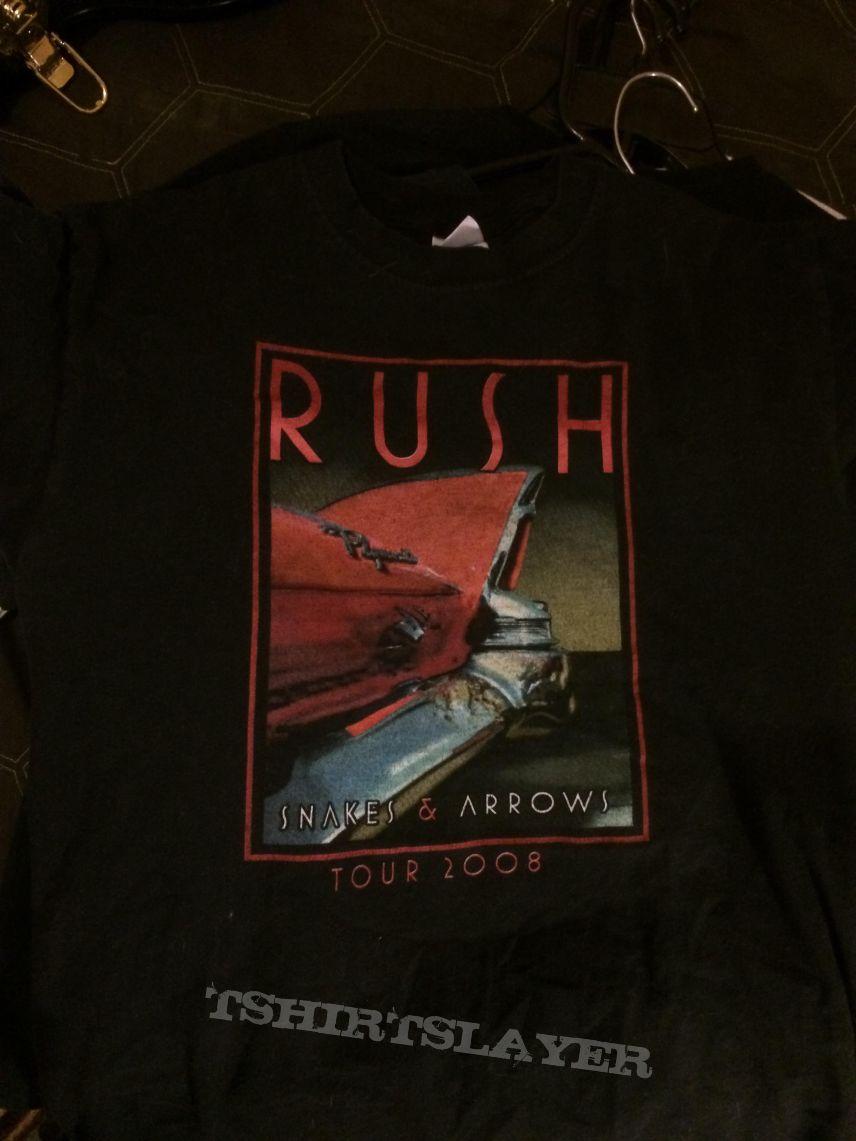 RUSH 2008 Snakes & Arrows tour