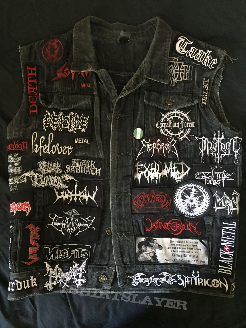 Battle Jacket (Front and Back) Update #1